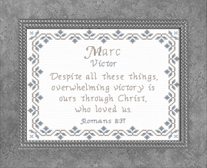 Name Blessings - Marc | Crafting | Cross-Stitch | Other