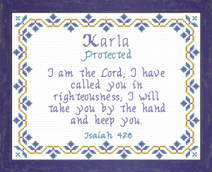 Name Blessings - Karla | Crafting | Cross-Stitch | Other