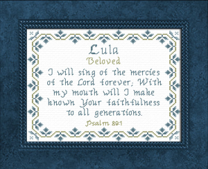 Name Blessings - Lula | Crafting | Cross-Stitch | Other