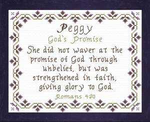 Name Blessings - Peggy 2 | Crafting | Cross-Stitch | Other