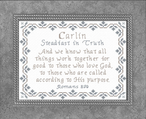 Name Blessings - Carlin | Crafting | Cross-Stitch | Other