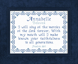 Name Blessings - Annabelle 2 | Crafting | Cross-Stitch | Other