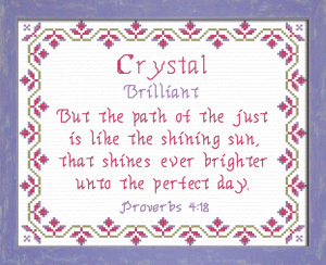 name blessings - crystal 2