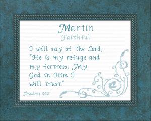 name blessings - martin