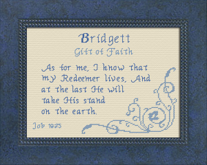 Name Blessings - Bridgett | Crafting | Cross-Stitch | Other