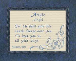 Name Blessings - Angie | Crafting | Cross-Stitch | Other