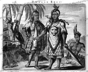 Natives of Virginia during the time of the conquest, Arnoldus Montanus, 1671 | Photos and Images | Travel