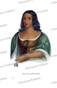 Pocahontas (1596-1617), Virginia, Thomas McKenney, 1872 | Photos and Images | Travel