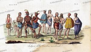 Inhabitants of South Carolina, Le´opold Massard, 1830 | Photos and Images | Travel