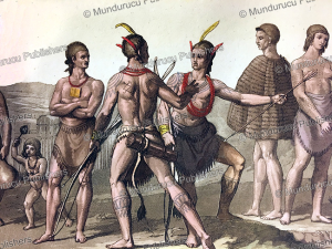tattooed warriors of south carolina, gallo gallina, 1816