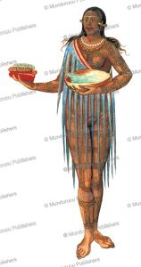 timucuan woman of florida, john white, 1585