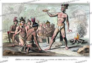 timucua king saturina goes to war, demoraine, 1839