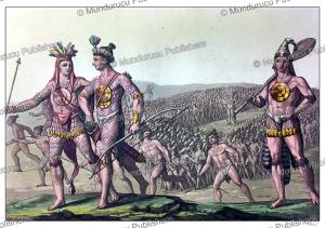 florida chiefs marching to war, gallo gallina, 1816