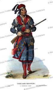 Tukoseemathla, a Seminole chief, Thomas McKenney, 1872 | Photos and Images | Travel