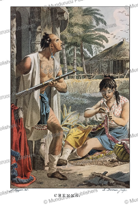 Creek Indians, Jacques Kuyper 1802 | Photos and Images | Travel