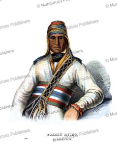 yoholo micco, a creek chief, thomas mckenney, 1872