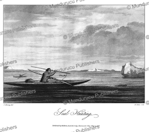 Inuit seal hunting, Greenland, S. Koenig, 1818 | Photos and Images | Travel