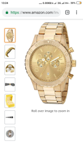 Gold watch | Other Files | Arts and Crafts