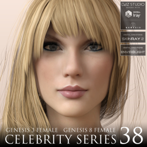 celebrity series 38 for genesis 3 and genesis 8 female