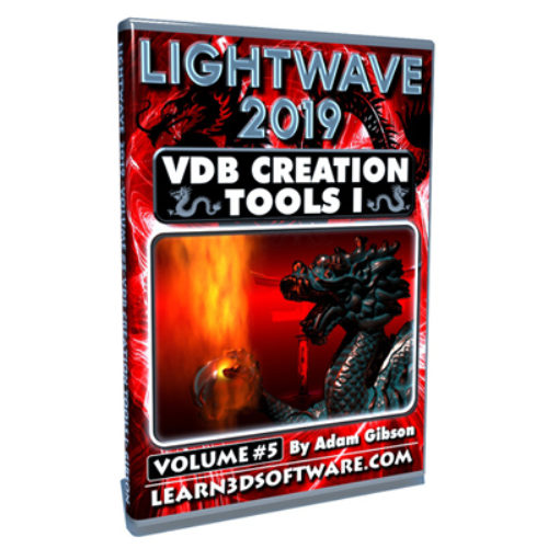 First Additional product image for - Lightwave 2019-Vol.#5-VDB Creation Tools I- Basics (Download Version)