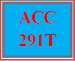 ACC 291T All participations | eBooks | Education