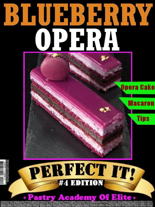 First Additional product image for - Blueberry Opera Cake
