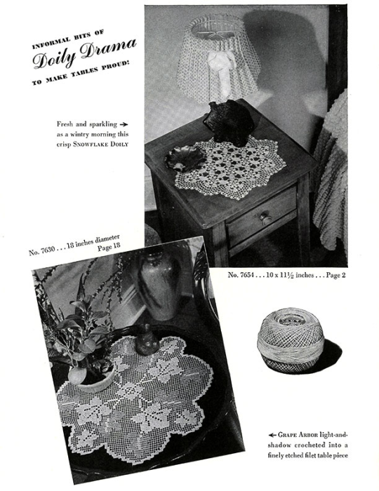 First Additional product image for - Doilies   Book No. 201   The Spool Cotton Company DIGITALLY RESTORED PDF