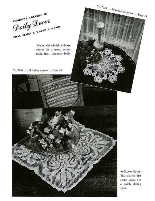 Second Additional product image for - Doilies   Book No. 201   The Spool Cotton Company DIGITALLY RESTORED PDF