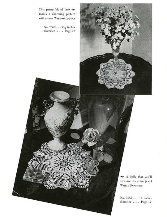 Third Additional product image for - Doilies | Book No. 201 | The Spool Cotton Company DIGITALLY RESTORED PDF