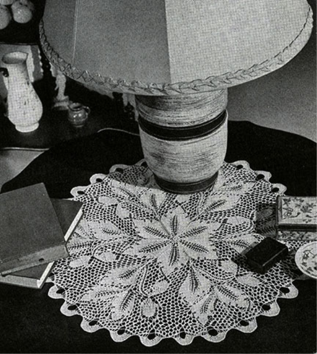 Fourth Additional product image for - Doilies | Book No. 201 | The Spool Cotton Company DIGITALLY RESTORED PDF