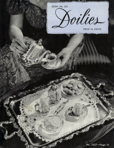 doilies | book no. 201 | the spool cotton company digitally restored pdf