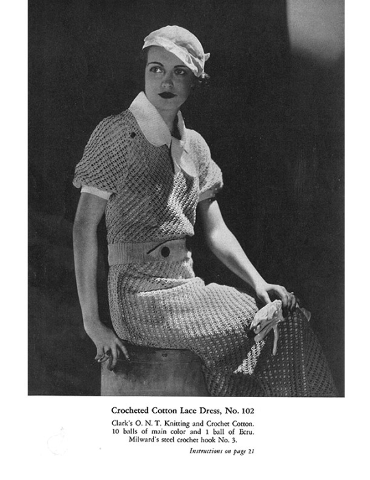 First Additional product image for - Fashions Crochet and Knitting | Book No. 29 | The Spool Cotton Company DIGITALLY RESTORED PDF