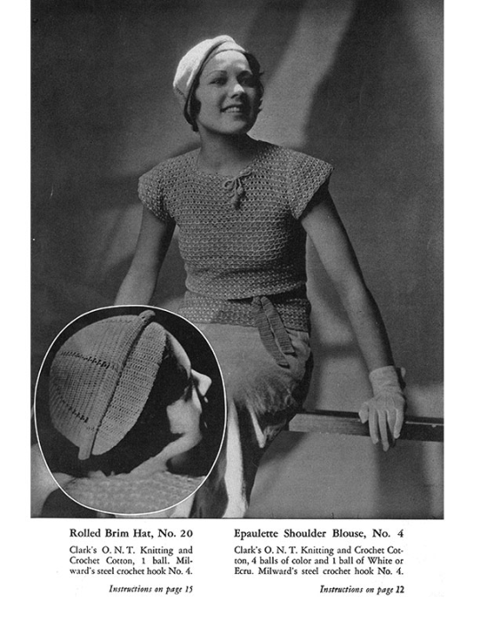 Second Additional product image for - Fashions Crochet and Knitting | Book No. 29 | The Spool Cotton Company DIGITALLY RESTORED PDF