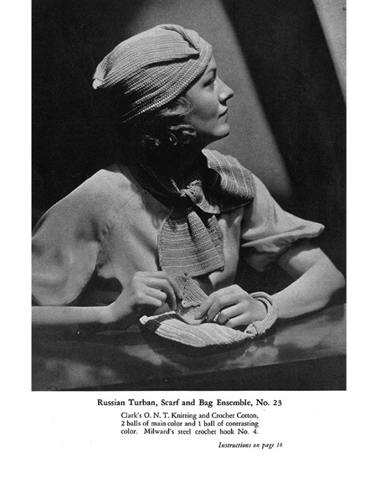 Third Additional product image for - Fashions Crochet and Knitting | Book No. 29 | The Spool Cotton Company DIGITALLY RESTORED PDF