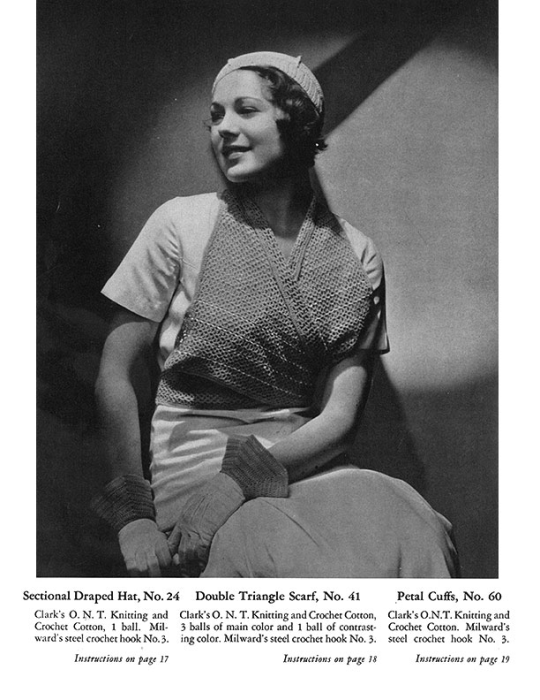 Fourth Additional product image for - Fashions Crochet and Knitting | Book No. 29 | The Spool Cotton Company DIGITALLY RESTORED PDF