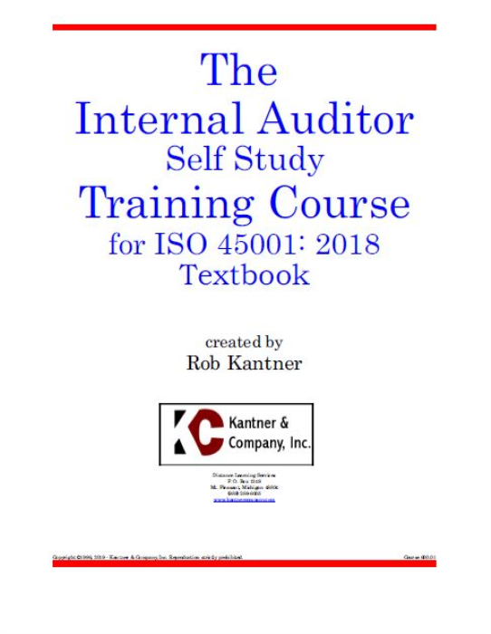 First Additional product image for - Effective Internal Auditor Self Study Training - ISO 45001:2018