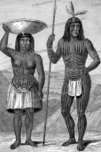 Mohave Indians, H.B. Mollhansen, 1856 | Photos and Images | Travel