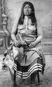 Mohave woman with chin tattoos, 1899 | Photos and Images | Travel