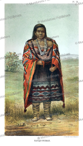 Navajo woman, John G. Bourke, 1884 | Photos and Images | Travel