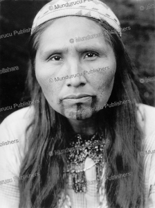 tolowa indian with chin tattoo, edward curtis, 1923