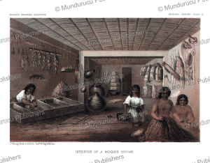 Inside a Moqui Indian lodge, H.B. Mollhausen, 1861 | Photos and Images | Travel