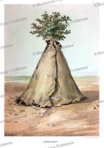 Sacred lodge, Moqui Indians, John G. Bourke, 1884 | Photos and Images | Travel