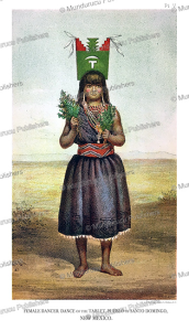 Female Pue´blo dancer of New Mexico, John G. Bourke, 1884 | Photos and Images | Travel