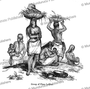 Group of Pimo Indians in California, Augustus Hoppin, 1874 | Photos and Images | Travel