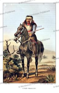 Lipan Apache warrior, Arthur Schott, 1857 | Photos and Images | Travel
