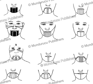 Tattoo chin patterns of Californian tribes | Photos and Images | Travel
