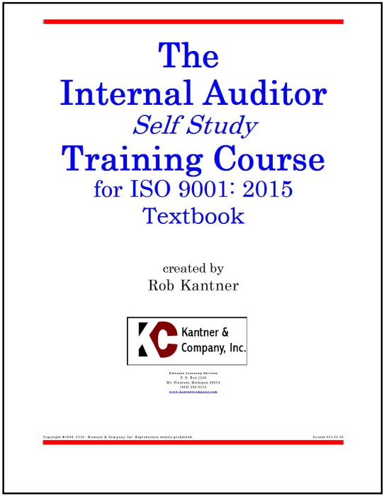 First Additional product image for - Effective Internal Auditor Self Study Training Course - ISO 9001:2015