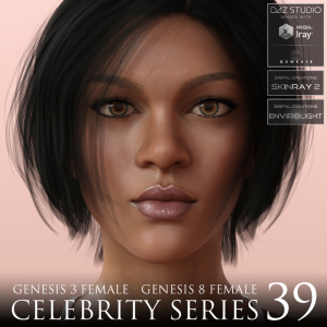celebrity series 39 for genesis 3 and genesis 8 female