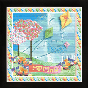 Spring | Crafting | Cross-Stitch | Other