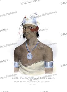 Shinggaabawosin, a Chippewa chief, J.O. Lewis, 1827 | Photos and Images | Travel